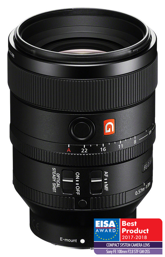 Sony FE 100mm f/2.8 STF GM OSS (Full Frame, E-Mount) CASHBACK 100€