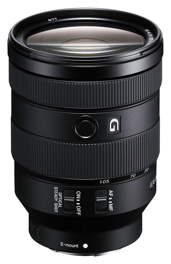 Sony FE 24-105mm f/4 G OSS (Full Frame, E-Mount)