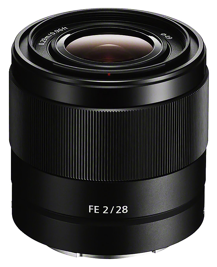 Sony FE 28mm f/2.0 (Full Frame, E-Mount) CASHBACK 50€