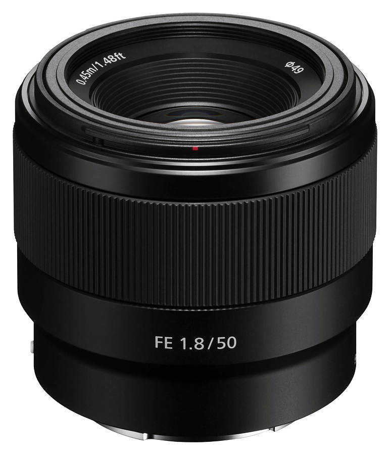 Sony FE 50mm f/1.8 (Full Frame, E-Mount)