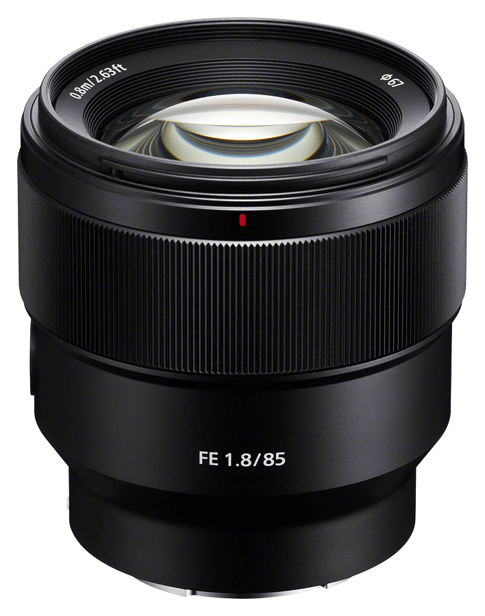 Sony FE 85mm f/1.8 (Full Frame, E-Mount) CASHBACK 50€