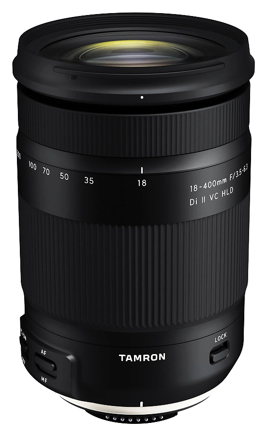 Tamron 18-400mm f/3.5-6.3 Di II VC PZD, baj. Nikon