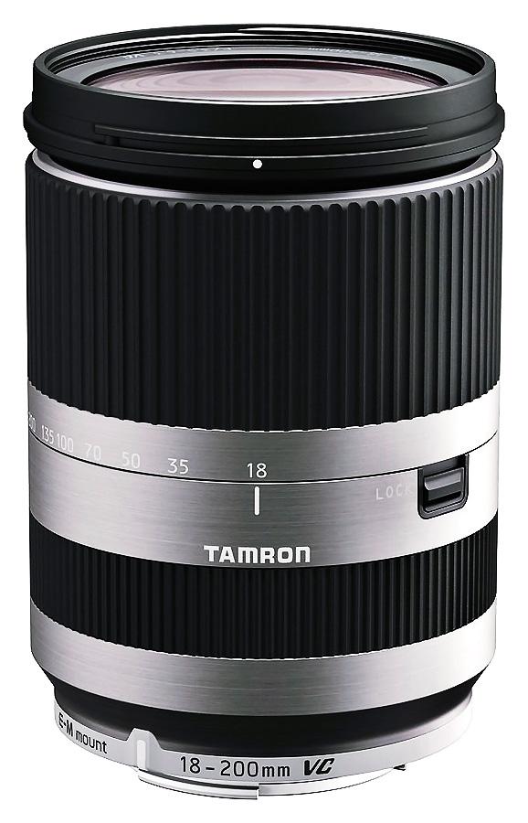 Tamron AF 18-200mm f/3.5-6.3 Di III VC, baj. Canon EF-M (APS-C), Strieborný