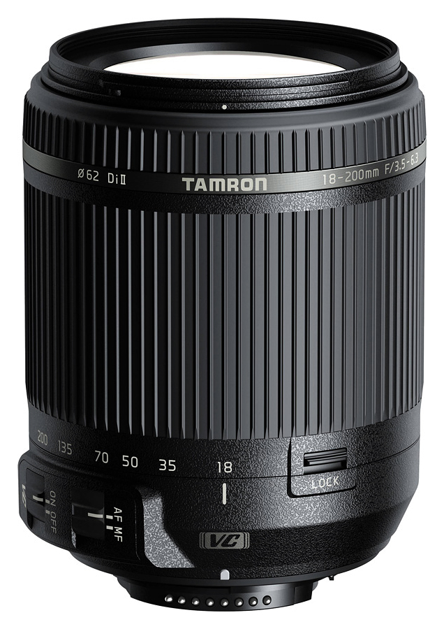 Tamron AF 18-200mm f/3.5-6.3 Di II VC, baj. Nikon F (DX/APS-C)