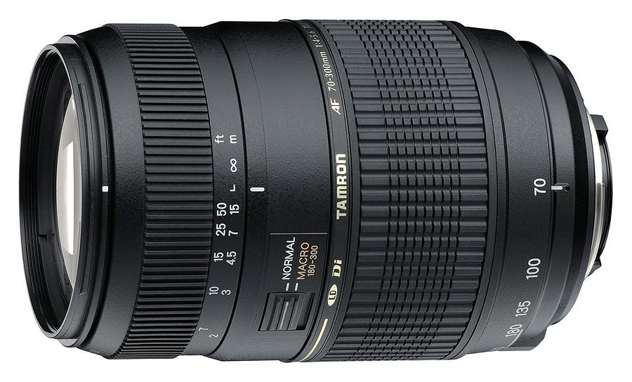 Tamron AF 70-300mm f/4-5.6 Di LD Macro 1:2, baj. Nikon