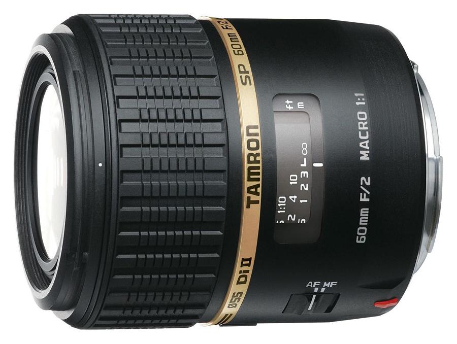 Tamron SP 60mm f/2 Di II Macro 1:1, baj. Canon