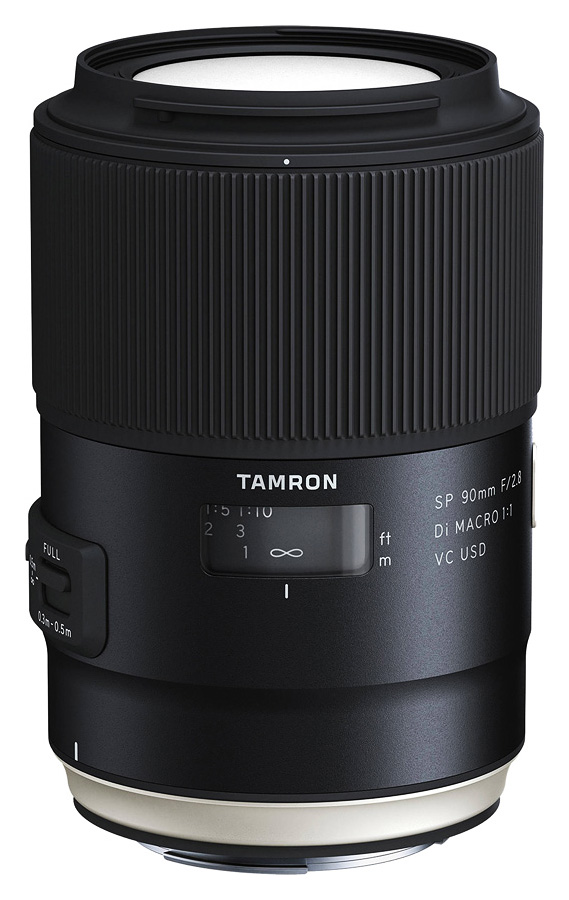 Tamron SP 90mm f/2.8 Di Macro 1:1 VC USD (F017), baj. Canon EF