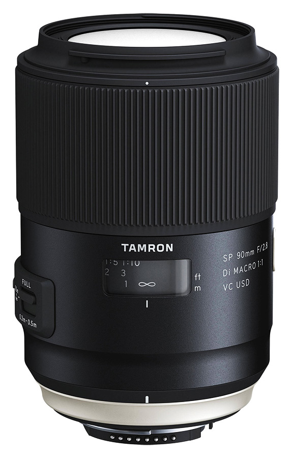 Tamron SP 90mm f/2.8 Di Macro 1:1 VC USD (F017), baj. Nikon F