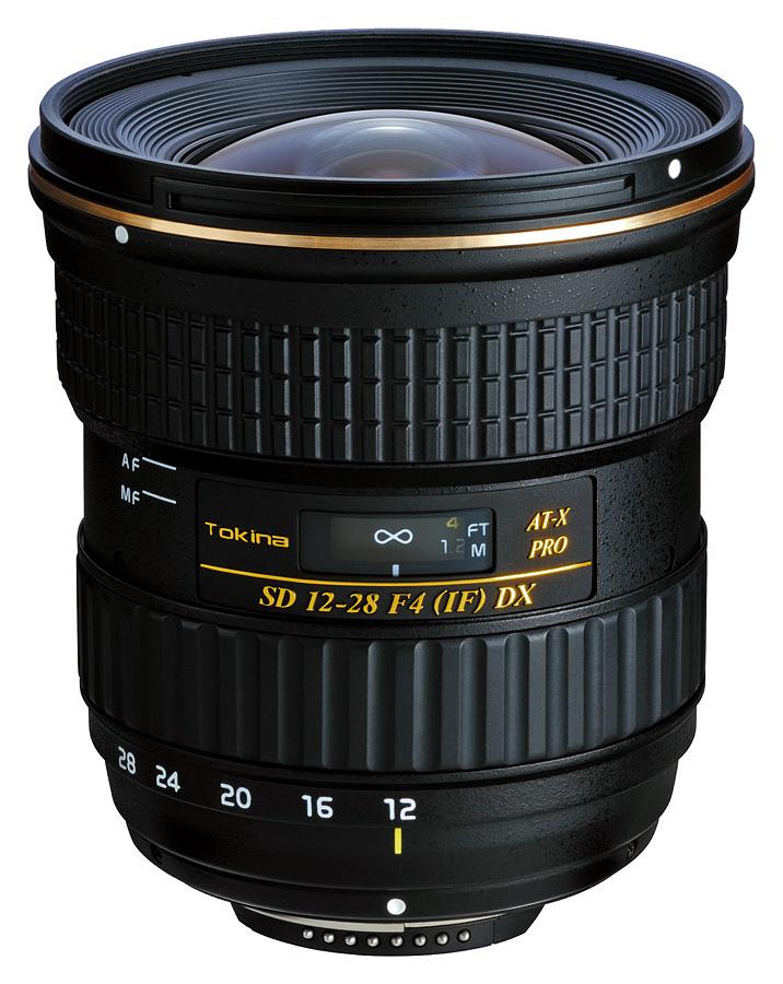 Tokina AT-X PRO AF 12-28mm f/4 DX, baj. Nikon