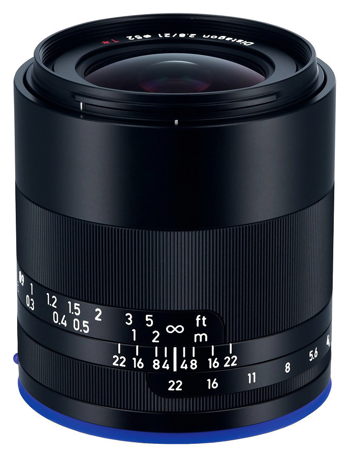 ZEISS Loxia 21mm f/2.8 Distagon T*, Sony E-Mount