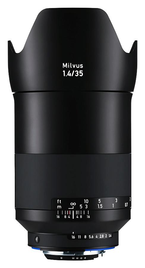 ZEISS Milvus 35mm f/1.4 ZF.2 Distagon T*, Baj. Nikon