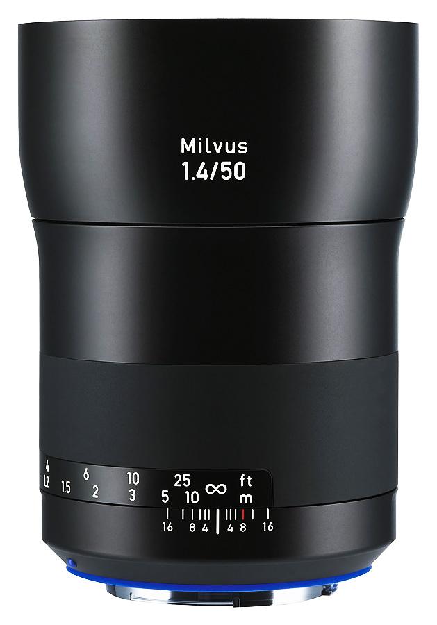 ZEISS Milvus 50mm f/1.4 ZE Distagon T*, Baj. Canon