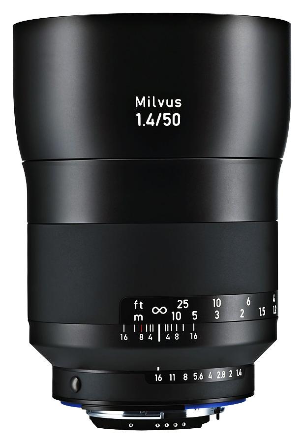 ZEISS Milvus 50mm f/1.4 ZF.2 Distagon T*, Baj. Nikon