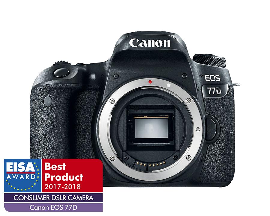 Canon EOS 77D, Telo