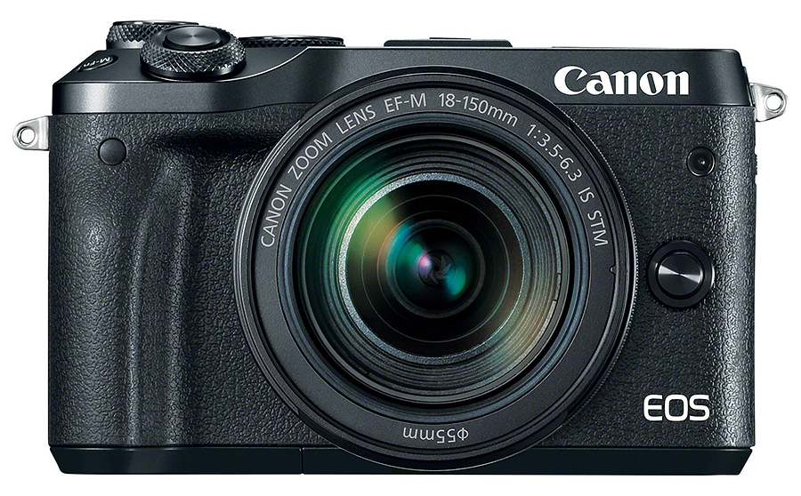 Canon EOS M6 + EF-M 18-150mm F3.5-6.3 IS STM, Čierny kit