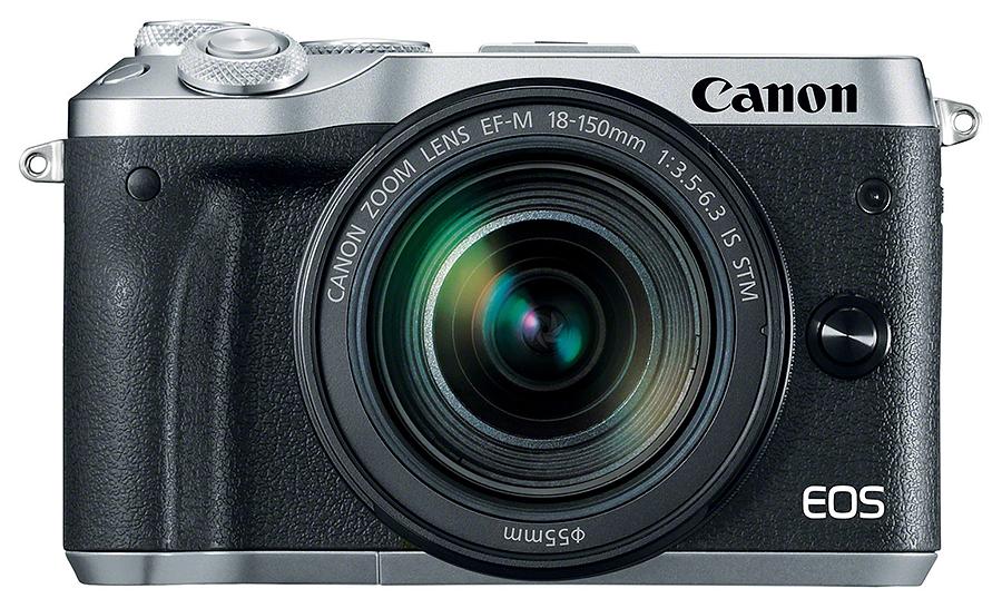 Canon EOS M6 + EF-M 18-150mm F3.5-6.3 IS STM, Strieborný kit