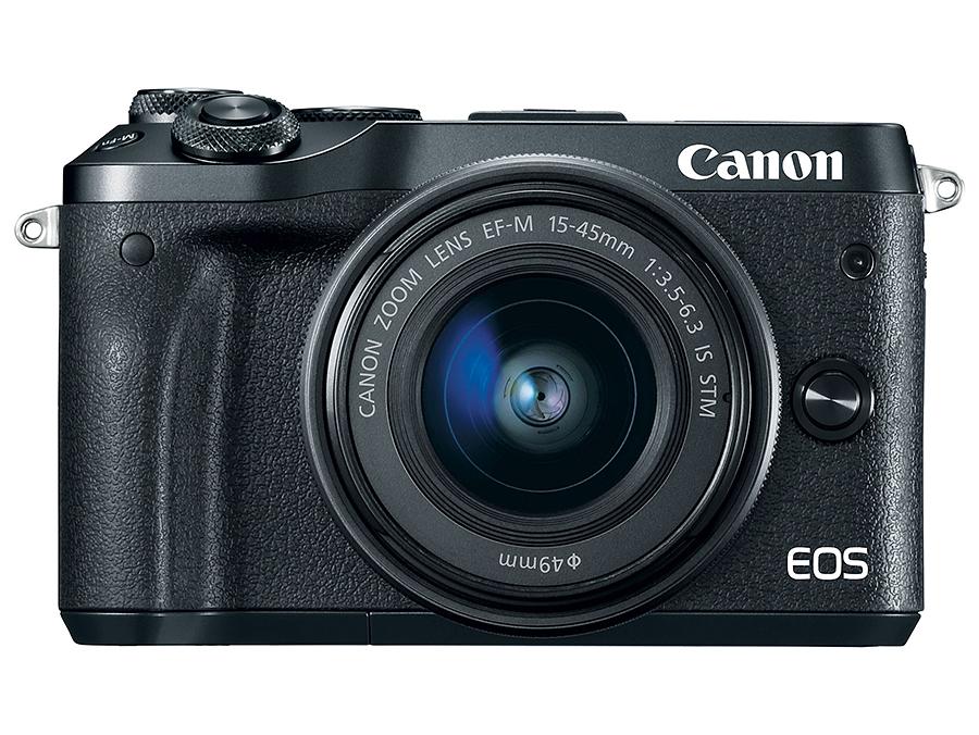 Canon EOS M6 + EF-M 15-45mm F3.5-6.3 IS STM, Čierny kit