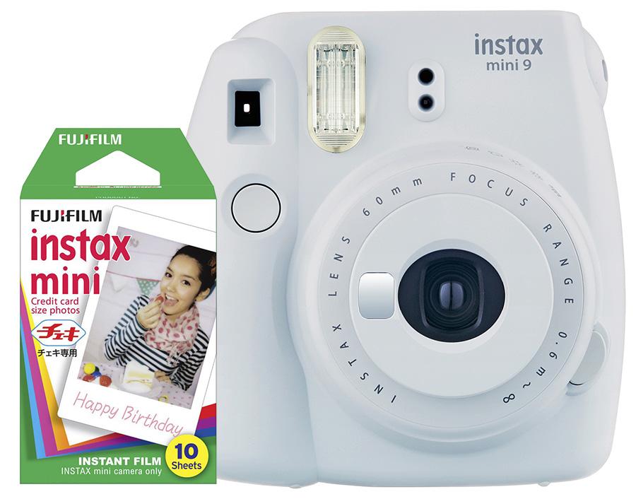 Fujifilm Instax Mini 9, biely + 10 fotografií