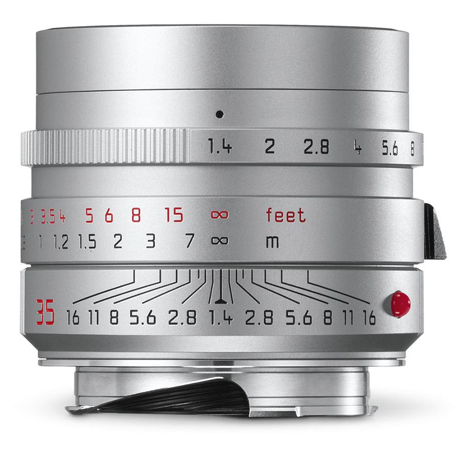 Leica SUMMILUX-M 35mm f/1.4 ASPH, strieborný