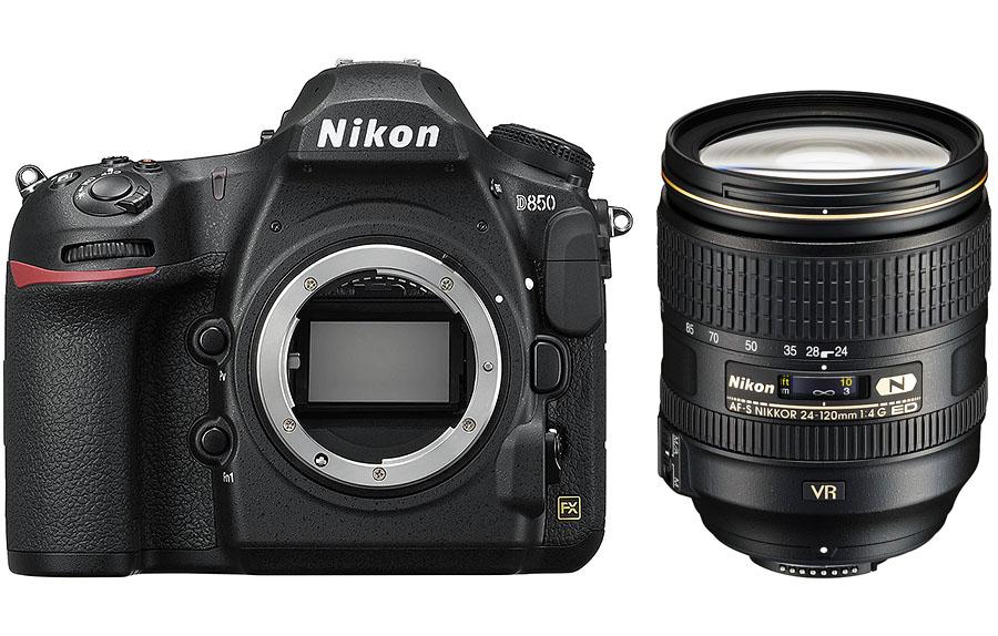 Nikon D850 + AF-S 24-120mm f/4G ED VR